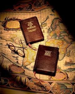 un missionnaire a toujours ses écritures avec lui