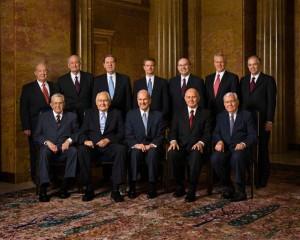 Les apôtres font des discours: les Conférences Générales Mormones
