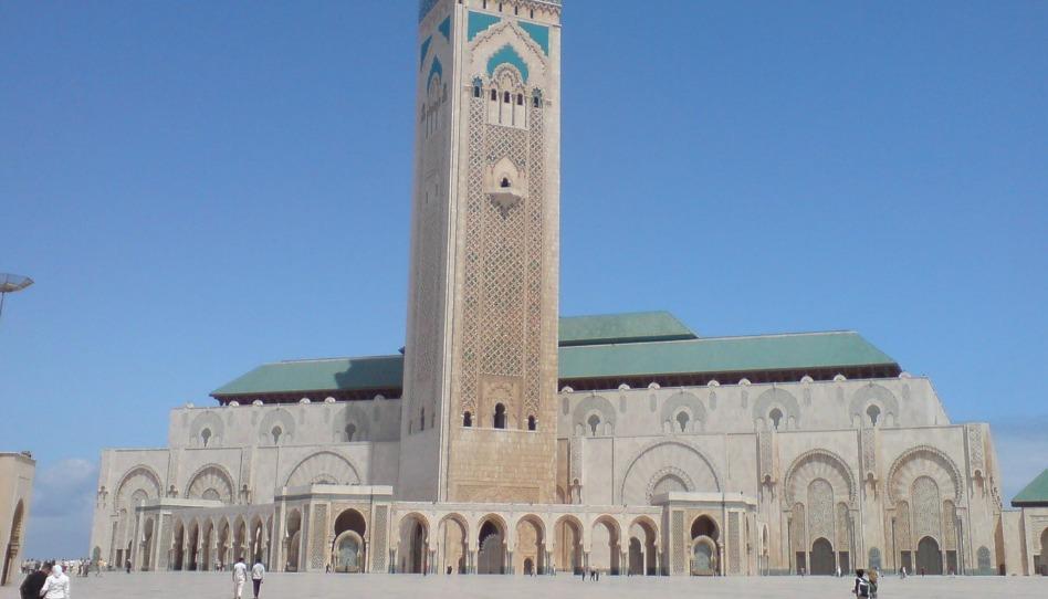 Mosquée de Casablanca, lieu de l'Islam, religion fondée par Mohammed
