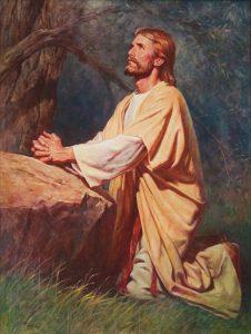 Jésus priant, homosexualité