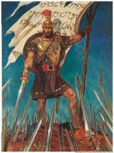 être comme Moroni, le capitaine néphite du Livre de Mormon