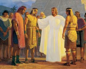 Jésus-Christ parmi les Néphites: ne céder en rien face aux épreuves fut une de leurs qualités
