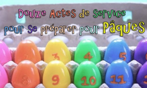 """Douze actes de """"services secrets"""" (servir sa famille)"""