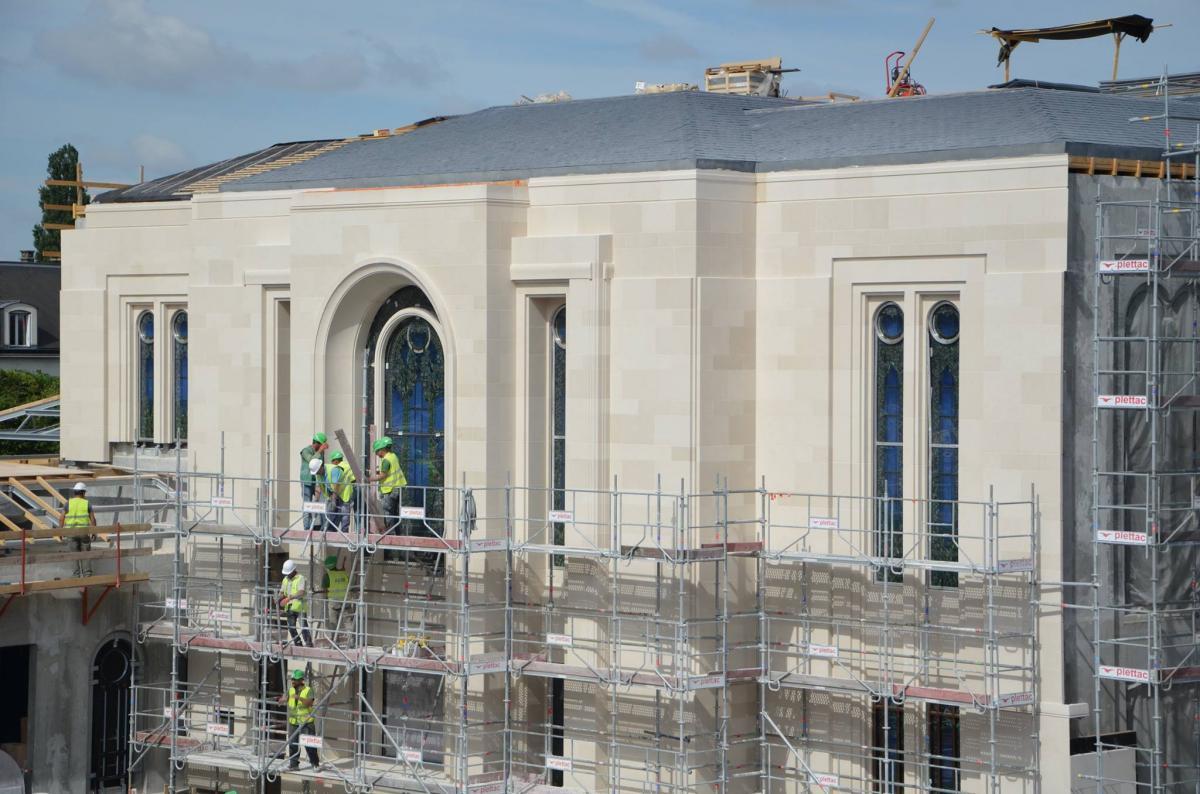 Le processus de construction des temples mormons