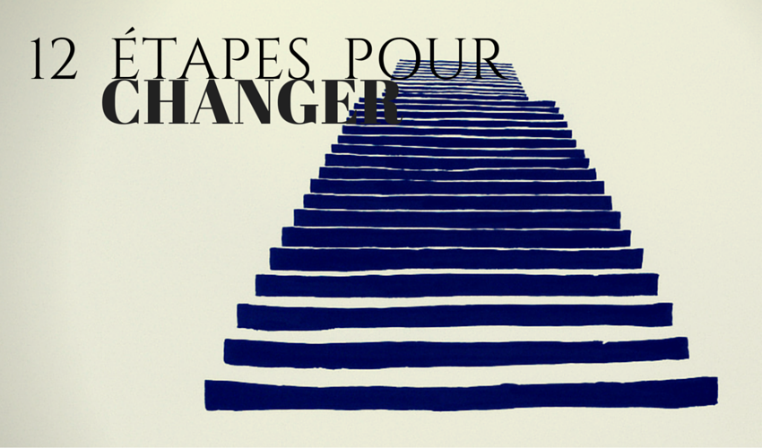 """""""12 étapes pour changer"""" campagne contre la dépendance disponible en français durant le mois d'octobre"""