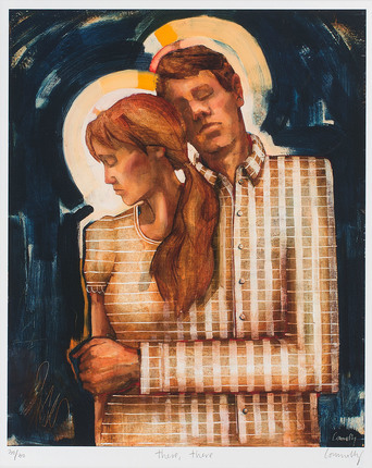 Titre de l'oeuvre: Threre, There - Là, là Artiste: Caitlin Connolly [photo: ldsliving.com]
