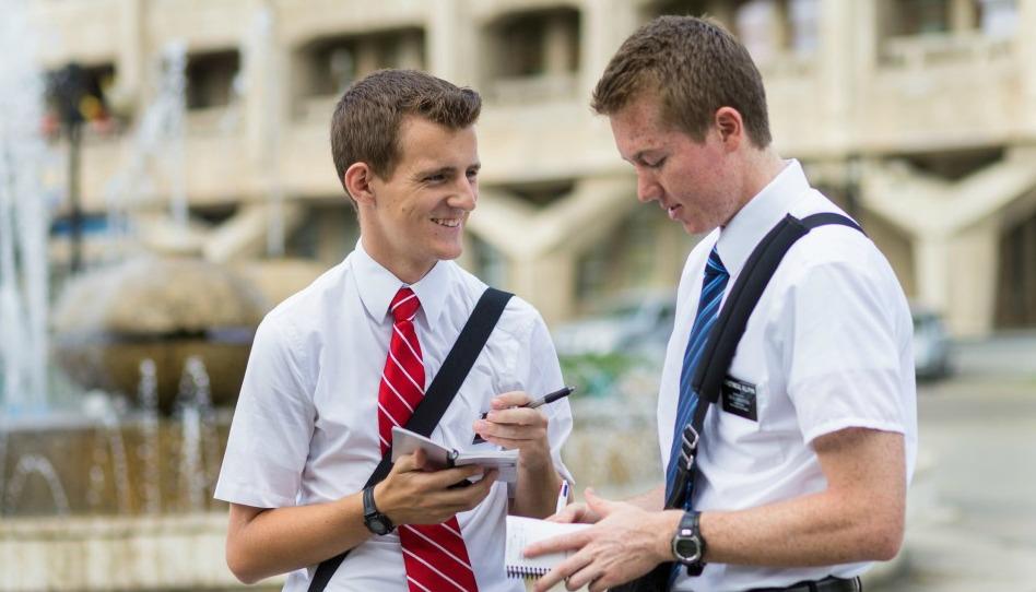 La journée d'un(e) missionnaire racontée par des GIF