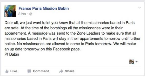 Mission France Babin