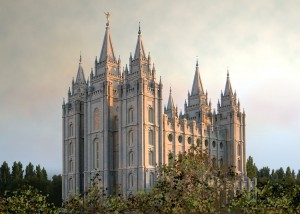 Temple Mormon Salt Lake city USA