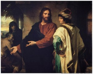 jesus-Christ-Riche-jeune-homme Noël plus authentique