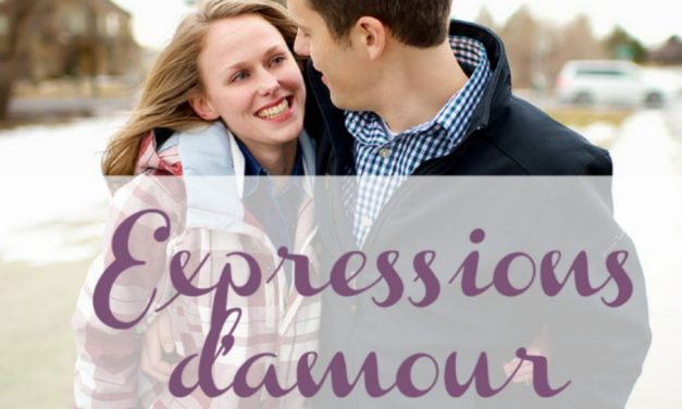 Message mormon : Expressions d'amour
