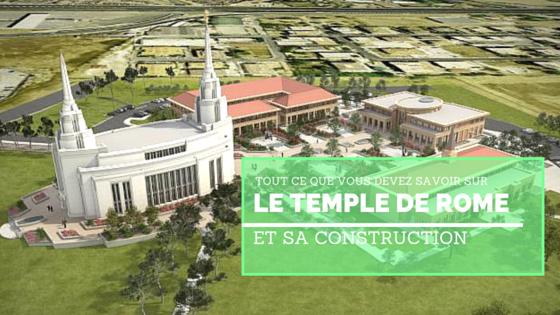 Temple de Rome construction