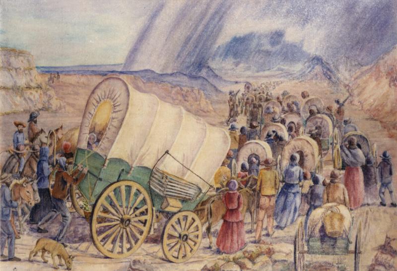 L'extraordinaire pionnier aveugle qui a traversé les plaines à pied