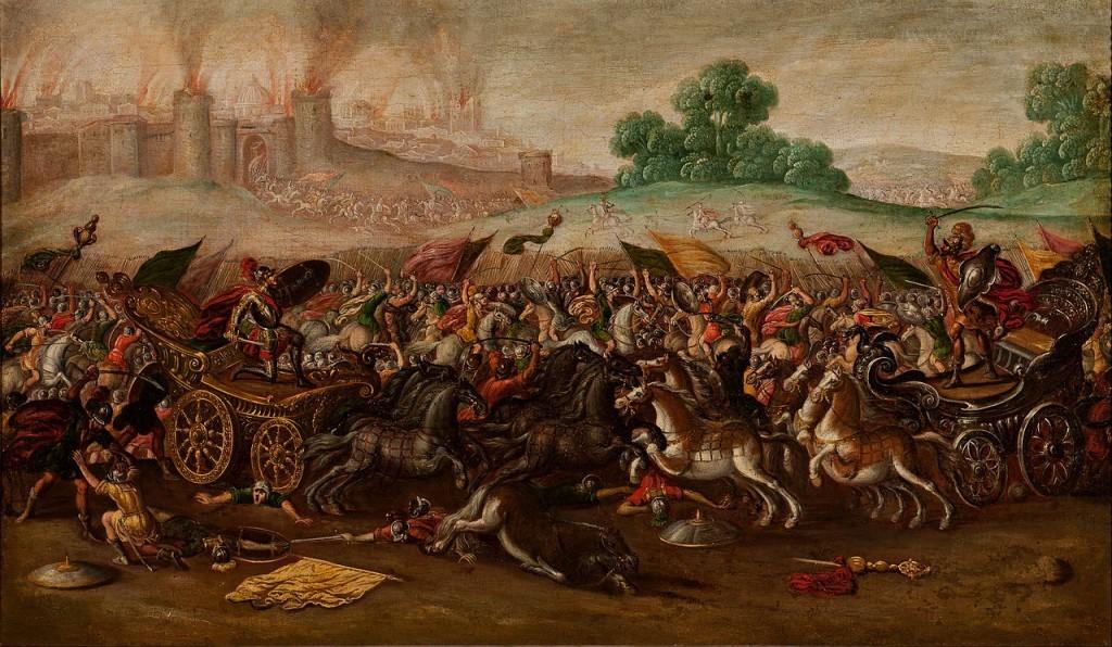 L'incendie de Jérusalem par Nebucchadnezar