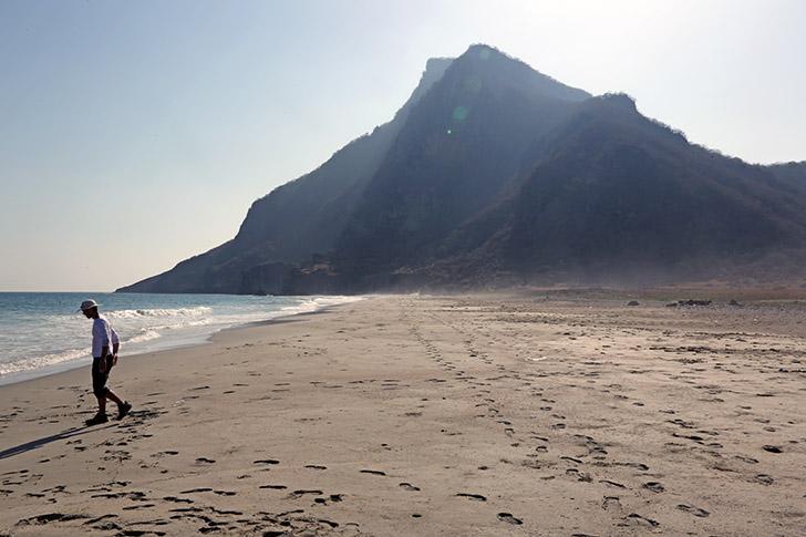 Khor-Kharfot plage