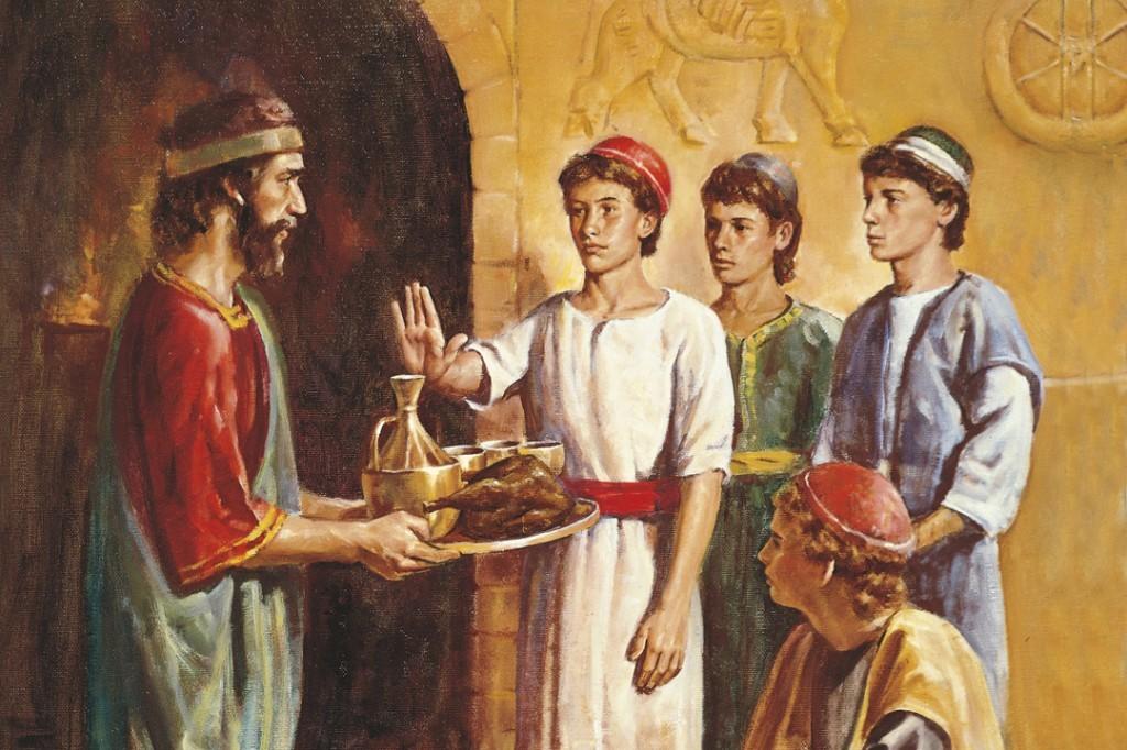 Daniel refuse la nourriture du Roi
