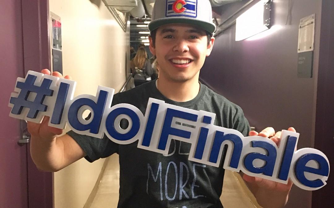 Mon retour sur la scène d'American Idol, par David Archuleta