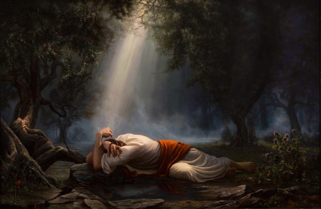 Jésus-Christ à Gethsémané