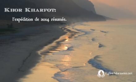 Khor Kharfot: l'expédition de 2014 résumée
