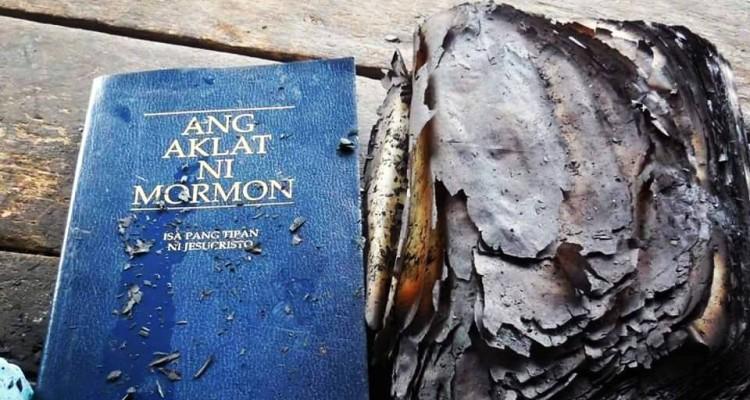 Un livre miraculeusement épargné par le feu