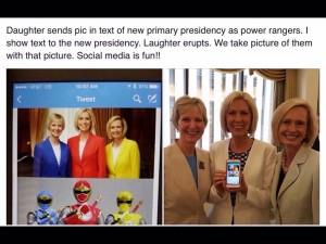 présidence primaire a humour
