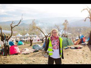 Hayley Smith a appris l'arabe et aide les réfugiés comme traductrice