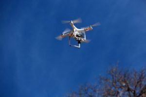 drone équipe fouilles Khor Kharfot