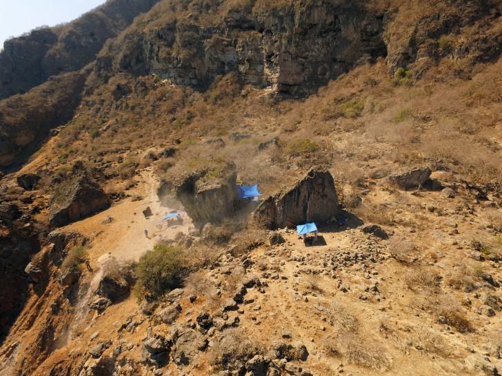 site du sanctuaire vu d'en haut