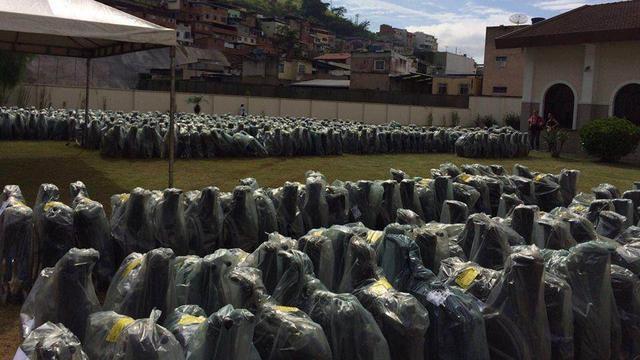 fauteuils roulants Brésil LDS Charities