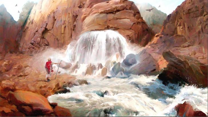 Moïse à Horeb le Livre de Mormon prend vie