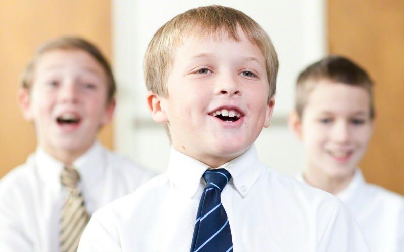 Des enfants qui chantent