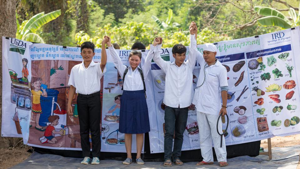 LDS Charities programme hygiène Cambodge