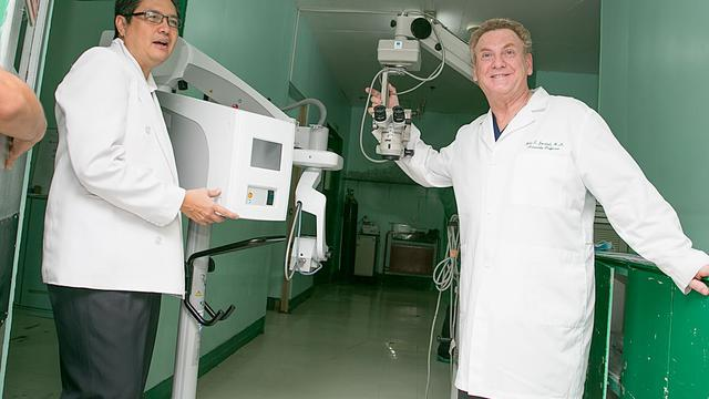 matériel ophtalmologie LDS Charities