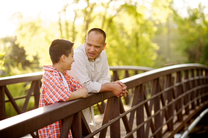 father-son-bridge