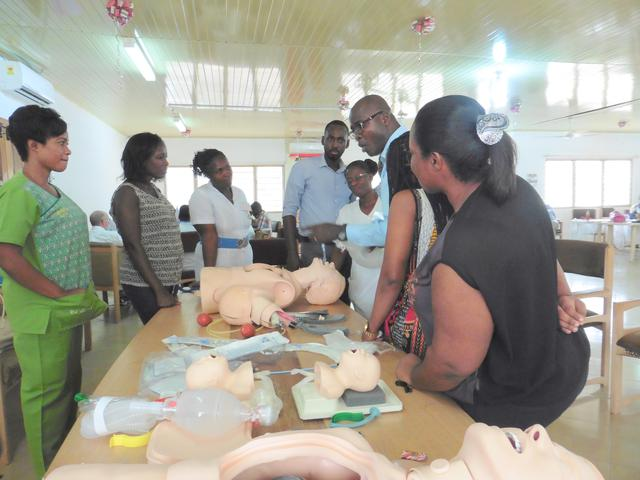 formation secours d'urgence Ghana LDS Charities
