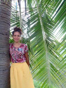 Aïata en mission à Tahiti