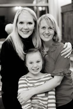 With Michelle and her daughter, Mary