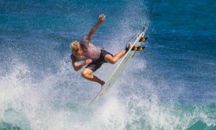 Jordy Collins, un mormon étoile montante du surf