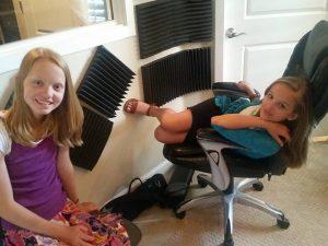 Sara et Evie artistes mormones