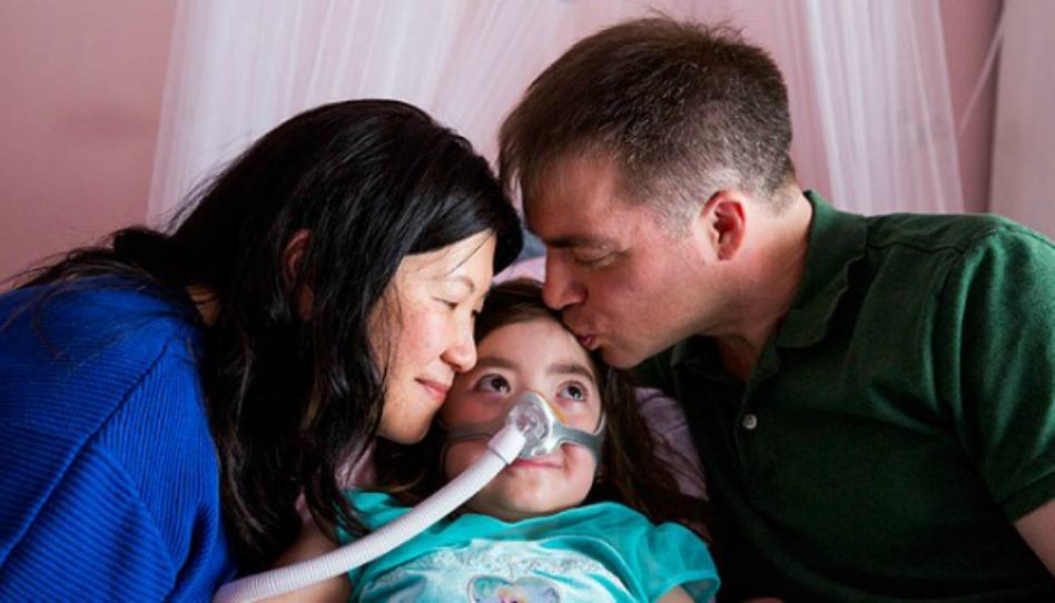 Une fillette de 5 ans atteinte d'une maladie rare choisit de retourner au ciel plutôt qu'à l'hôpital
