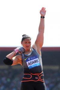 Valerie Adams est une championne de lancer de poids qui participe aux jeux olympiques de Rio