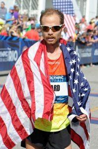 Jared Ward est un marathonien participant aux jeux olympiques de Rio
