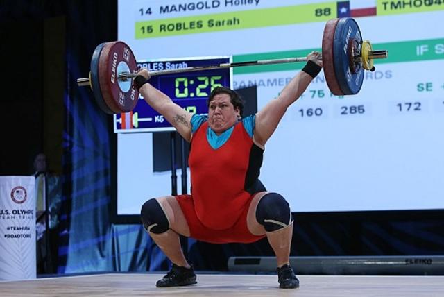 Cette mormone est championne d'haltérophilie et participe aux jeux olympiques de Rio