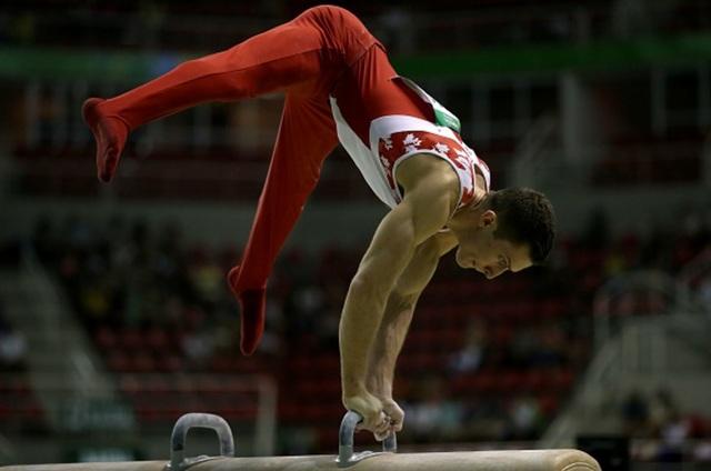 Jackson Payne participe aux jeux olympiques en gymnastique