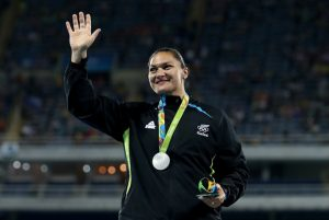 Valérie Adams médaillée d'argent aux jeux olympiques de Rio