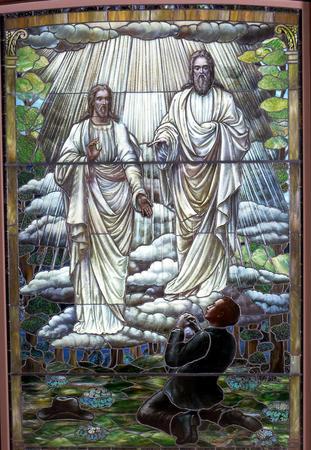 devenir divin - vitraux