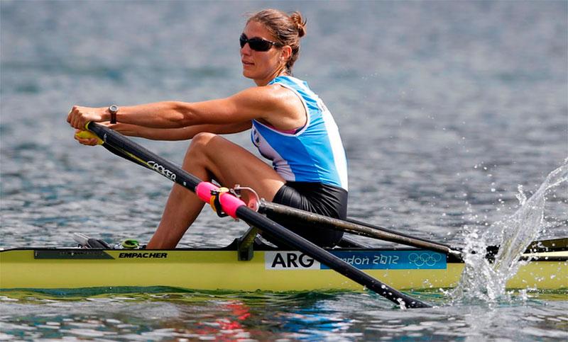 Lucia Palermo participe aux jeux olympiques de Rio dans la catégorie Aviron