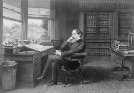 Charles Dickens est une des célébrités qui a fait l'éloge des Mormons.