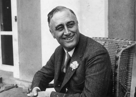 photo de Franklin D. Roosevelt,, ancien président des Etats Unis, personnage influent qui a parlé au sujet des Mormons