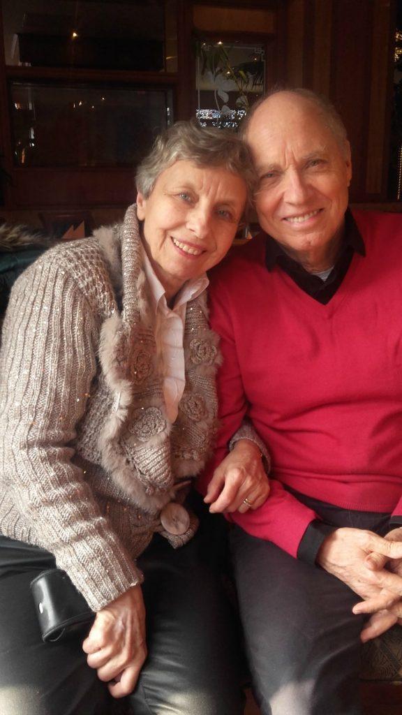 Thérèse Disler et son mari Rolf: elle a fait le choix de la foi et ne veut pas s'en éloigner